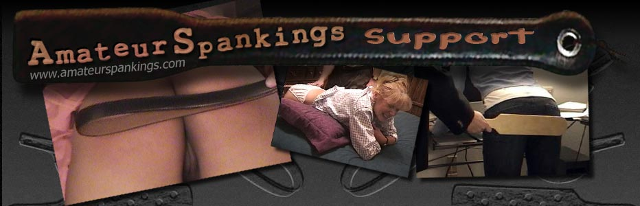 Amateur Spankings support page header