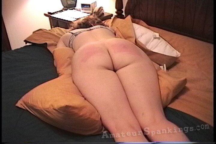 Hard Belt Spanking Clips yum